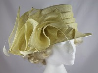Hatmosphere Collection Buttermilk Wedding Hat