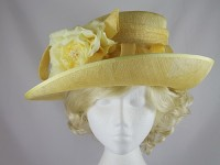 Hatmosphere Collection Yellow Wedding / Events Hat