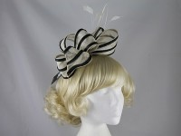 Failsworth Millinery Two Tone Loops Headpiece