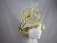 Failsworth Millinery Sinamay Double Disc