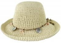 SSP Hats Shells Straw Hat