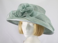 Jacques Vert Mid Green Formal Hat