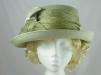 Jacques Vert Pale Green Wedding Hat