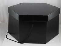 Large Black Hat Box