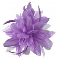 Aurora Collection Flower with Biots Fascinator