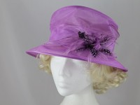 Failsworth Millinery Small Brim Collapsible Wedding Hat