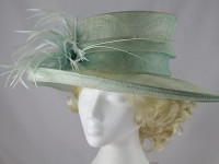 Maddox Aqua Wedding / Events Hat