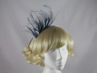 Maddox Pale Blue Fascinator