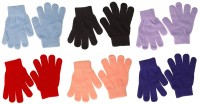 Magic Childrens Stretchy Gloves Set of Six