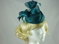 Failsworth Millinery Pillbox with Diamante