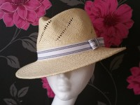 Matthew Eluwande Millinery Panama Hat