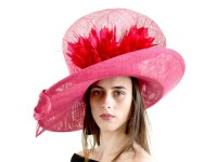 Matthew Eluwande Millinery Pink Events Hat