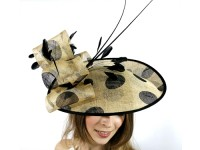 Matthew Eluwande Millinery Polka Dots Events Disc