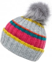 Boardman Stripey Beanie Bobble Hat