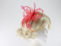 Molly and Rose Coral Mini Two Tone Fascinator
