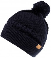 Boardman Finley Cable Knit Beanie Bobble Hat