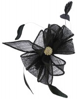 Elegance Collection Small Clip Diamante Fascinator