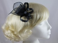 Elegance Collection Small Sinamay Fascinator