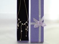 Wedding necklace Chrystal Silver