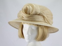 Nigel Rayment Pale Corn Formal Hat