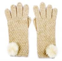 Alice Hannah Alina Diagonal Ribbed Gloves