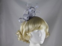 Elegance Collection Feathers and Loops Fascinator