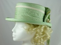 Pale Green Formal Hat