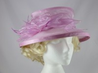 Small Brim Collapsible Wedding Hat