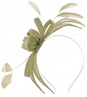 Failsworth Millinery Aliceband Sinamay Fascinator