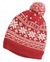 Hawkins Snowflakes Beanie Ski Hat