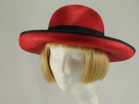 Right Impression Red Formal Hat