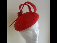 Suzie Mahony Designs Red Beret