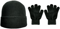 Boardman Recycled Repreve Beanie Hat with Matching Gloves