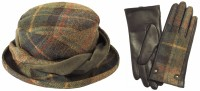 Failsworth Millinery Mallaleius Wool Hat with Matching Gloves