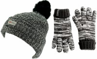 SSP Hats Kids Thinsulate Dapple Beanie with Matching Gloves