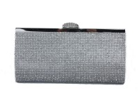 Papaya Fashion Diamante Clutch Bag