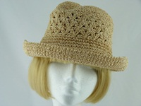 Ladies hat Caramel