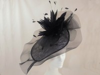 Suzie Mahony Designs Black Kate Hatinator
