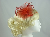 Swirl & Biots Fascinator on clip
