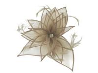 Failsworth Millinery Diamante Organza Fascinator