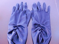 Wedding Gloves Navy