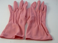 Wedding gloves Mid Pink