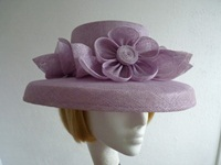 Wedding hat Pale Lilac