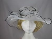 Organza Two Tone Wedding Hat