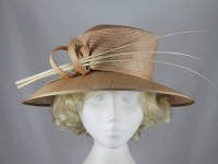 Whiteley Beige Events Hat