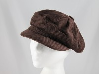 Whiteley Brown Cotton Cap