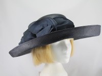 Whiteley Charcoal Ascot Hat