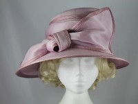 Whiteley Lilac Ascot Hat
