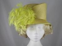 Whiteley Lime Wedding Hat