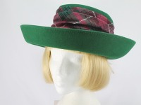 Whiteley Moss Green Formal Hat